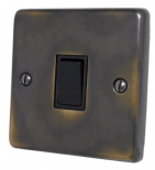 Standard Plate Aged Brass 20 Amp Switches